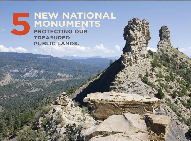 5 new national monuments created