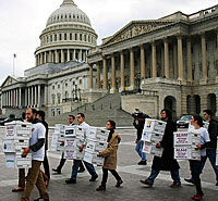 Keystone XL petitions delivered to legislators
