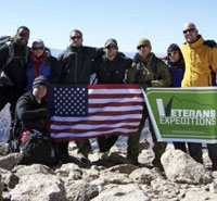 Stacy Bare and vets on Grand Teton