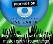 Live Earth + Sierra Club