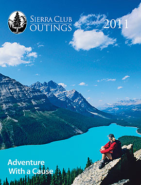 Sierra Club Outings trip guide cover photo