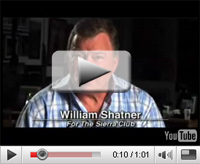 Check out our new video with William Shatner.