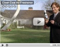 Clean Coal Air Freshener