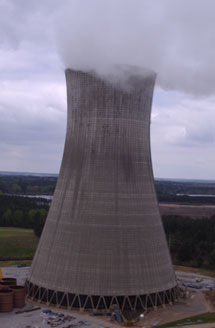 Plant Scherer Cooling Tower