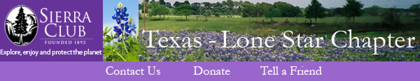 Lone Star Chapter, Sierra Club