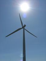 Turbine and Sun