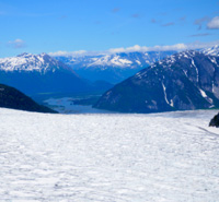 Mendenhall Glacier, Alaska - one of the many reasons to protect Alaska.