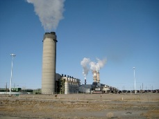 Four corners coal plant