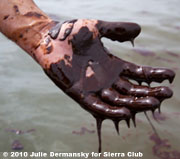 Oil Hand