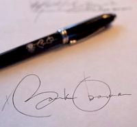 President Obama's Signature