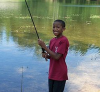 Take me fishing: getting the kids outdoors.