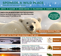 Sponsor a wild place this holiday season!