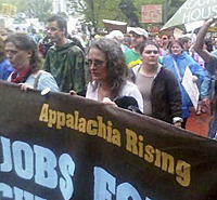  Local Sierra Club activists and other concerned citizens in Appalachia working to stop the devastation of mountaintop-removal mining.