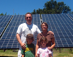 Solar family (Photo by Bea Herrera)