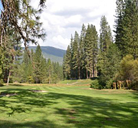 Golfing in  Yosemite