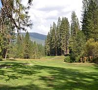 Golfing in  Yosemite