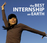 The Best Internship on Earth
