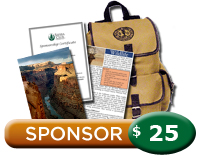 $25 Grand Canyon Sponsorship