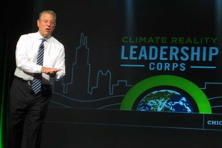 Chicago Al Gore Climate Reality Corps