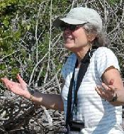 Volunteer Cindy Reid