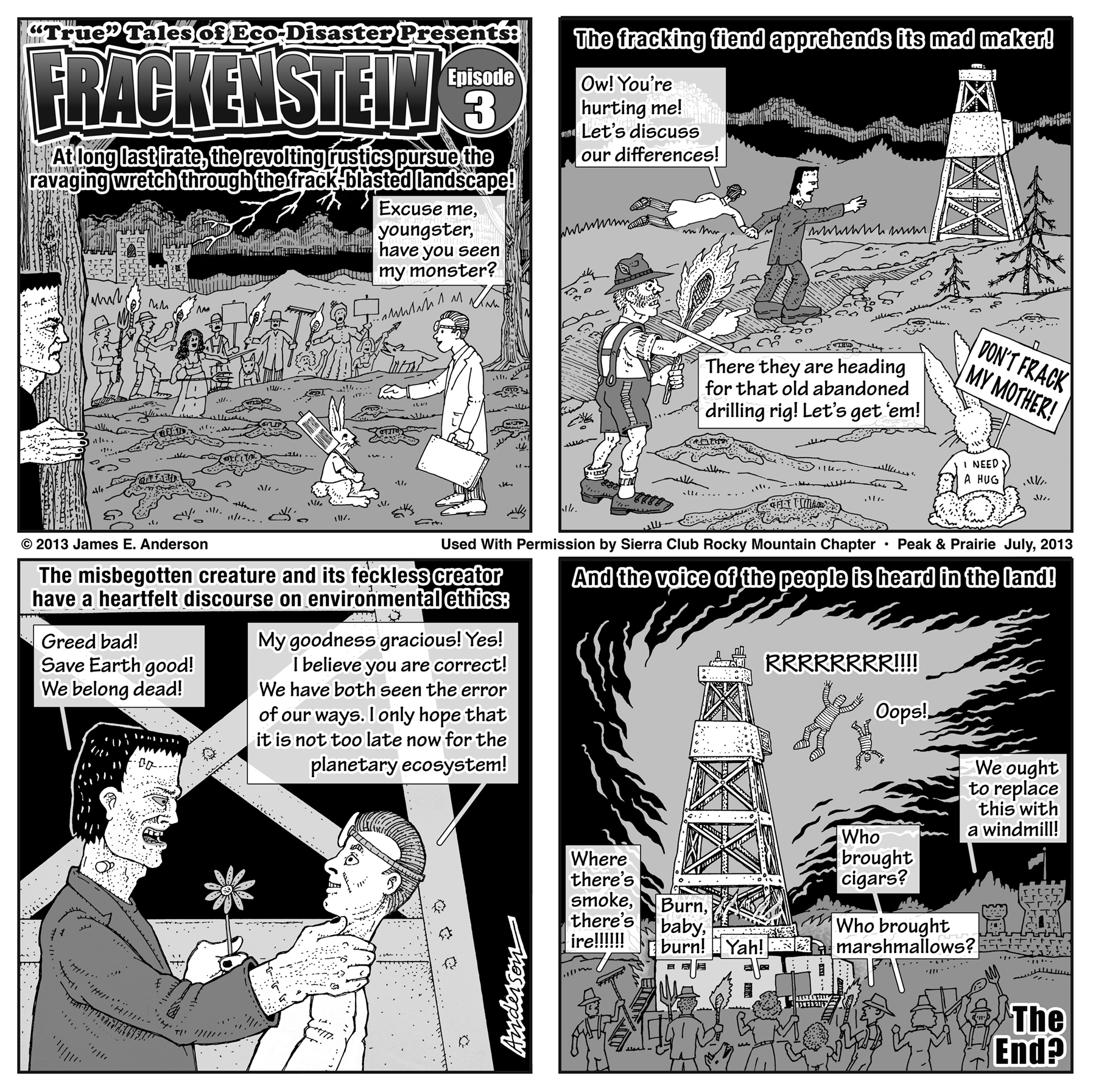 Frackenstein toon episode 3