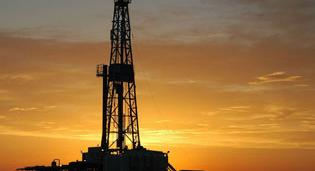 Natural gas drilling.