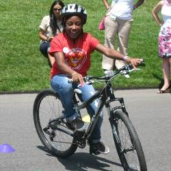 OAK Girl Biking