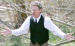 John Stansfield portrays Enos Mills