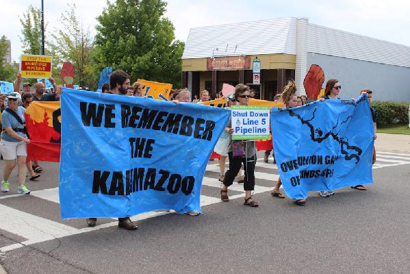 Remember the Kalamazoo memorial walk