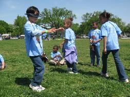 Kids Playing Outside 2