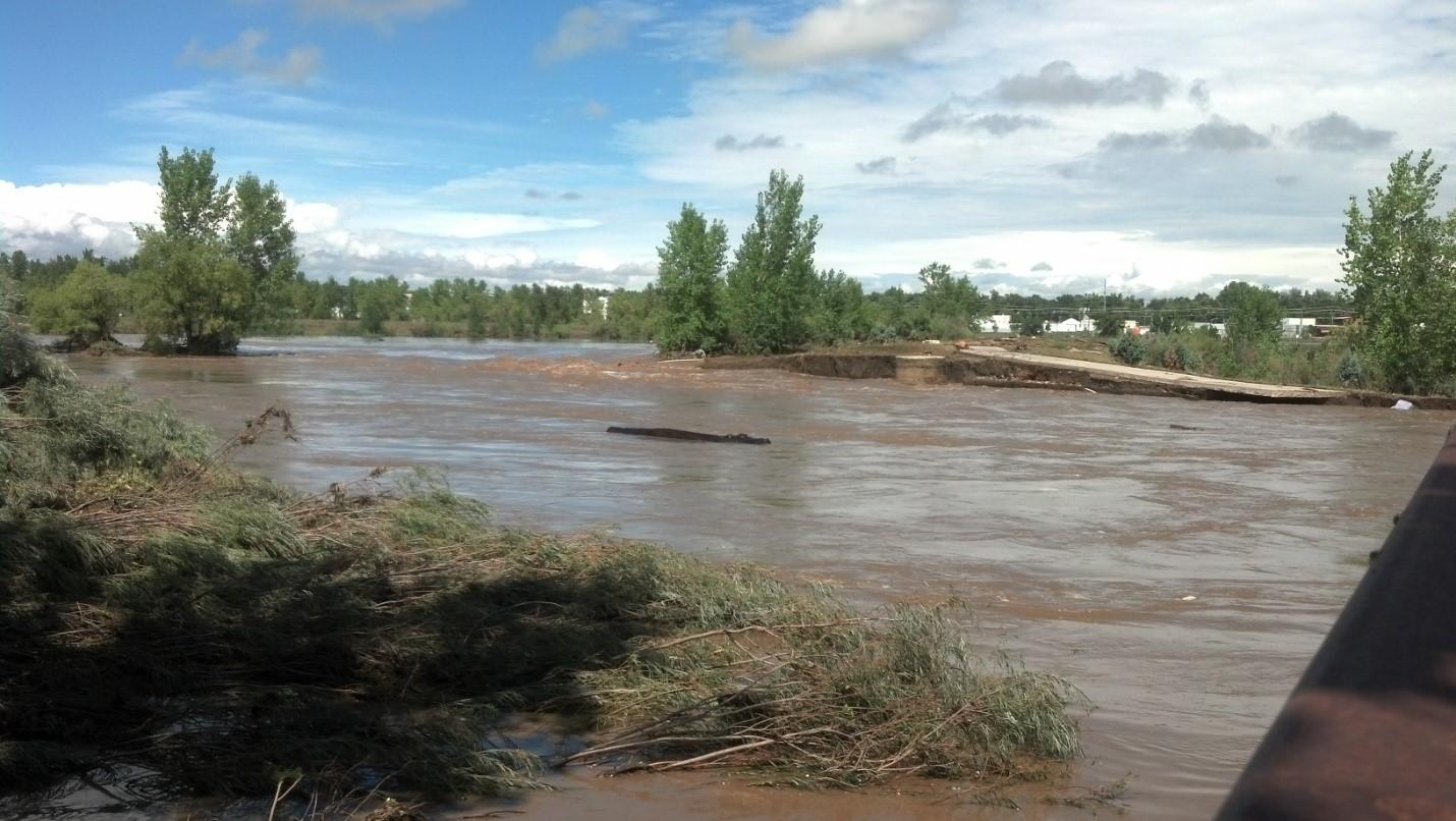 Longmont Flooding 1