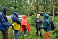 Marc leads stewardship outing in Rain at MD Jamboree 2011