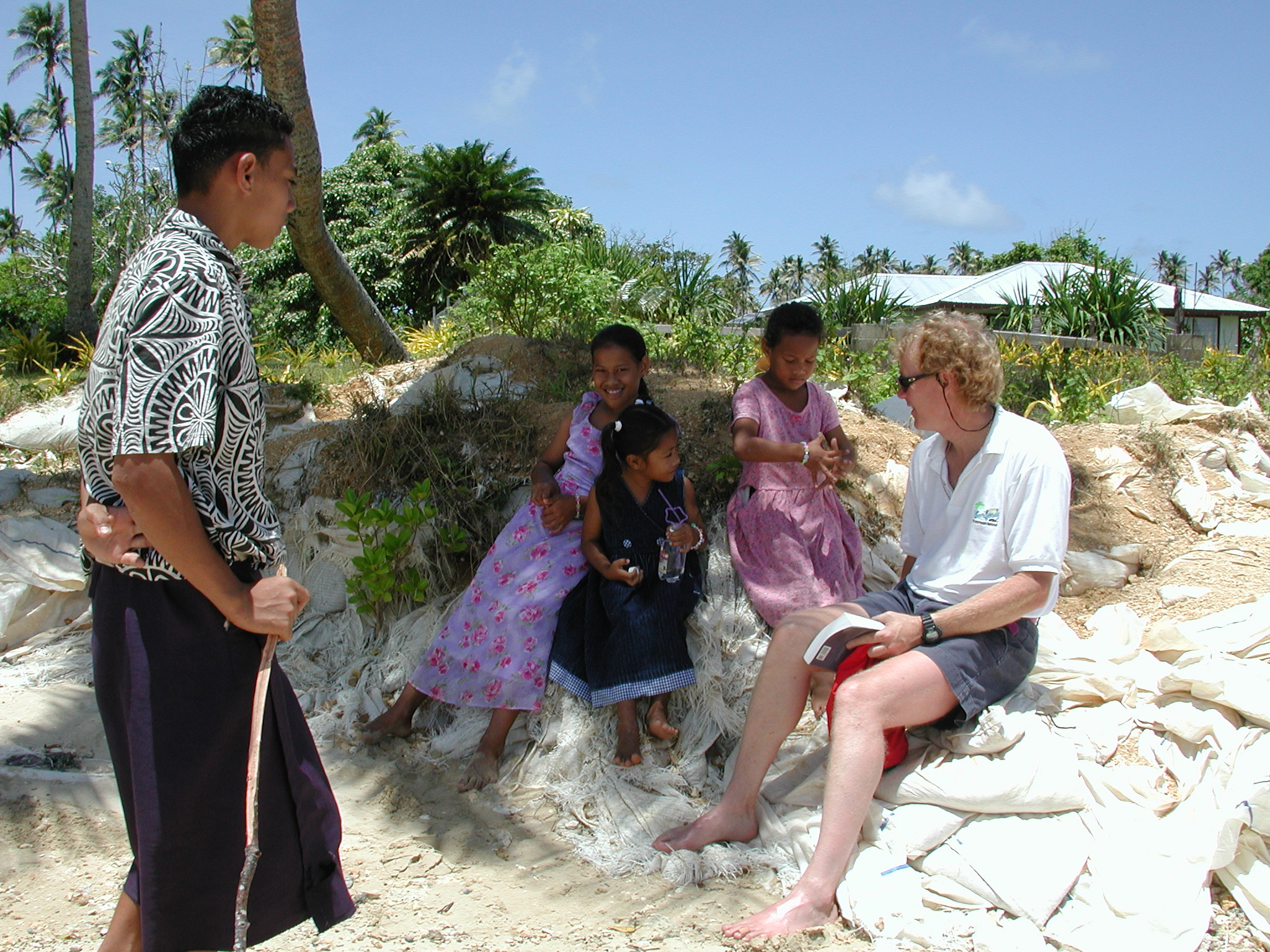 Mark Stevens in Tonga