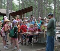 trails day tabling Paul