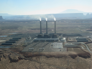 Navajo Generating Station (By J. Brew)