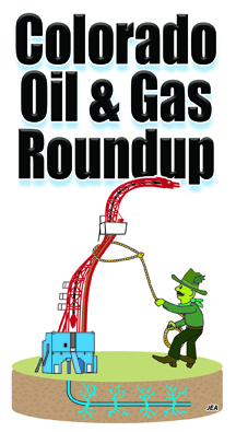 Colorado Oil & Gas Roundup vertical logo