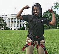 Best Intern Kokei at the White House