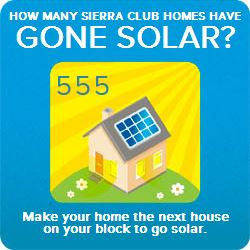 555 Homeowners partnered with Sierra Club and Sungevity!