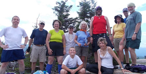 Welch Dickey Hike Participants
