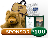 $100 Yellowstone Sponsorship