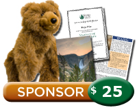 $25 Yellowstone Sponsorship