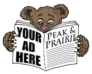Bear Read Peak & Prairie, by Jim Anderson