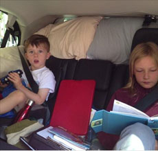 Road Trip! Brune Family Vacation Celebrates New