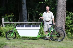 Solar Cargo Bike