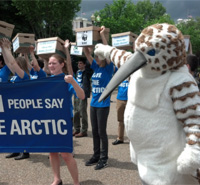 Grassroots Activism: Swarming Against Arctic Drilling -- read more.