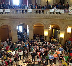 Grassroots Activism: Minnesota Rallies for Clean Energy
