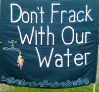 Grassroots Activism: Stop the Frack Attack on July 28 -- read more.