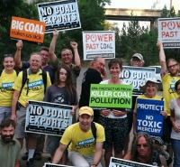 Grassroots Activism: Door-To-Door Against Coal -- read more.