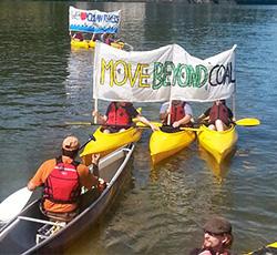 Grassroots Activism: Kayak Beyond Coal