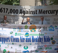 Delivering Mercury Safeguard Comments to the EPA